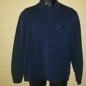 Ted Baker 1/4 zip up Sweater Pullover sz.7